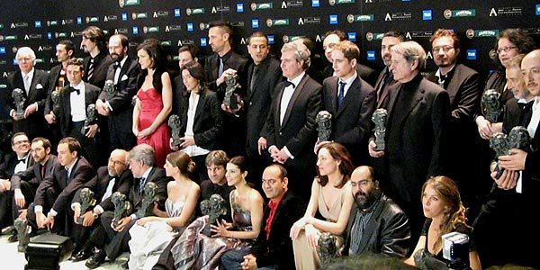Todos los premiados en los Goya 2007