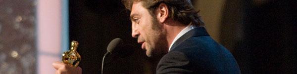 Javier Bardem recoge el Oscar