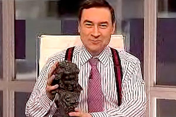 Pedro J. Ramírez con el Goya robado