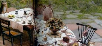 Boceto para 'Alicia en el pasís de las maravillas', de Tim Burton