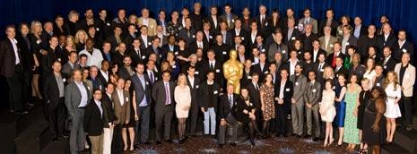 La foto de familia de los nominados a los Oscar