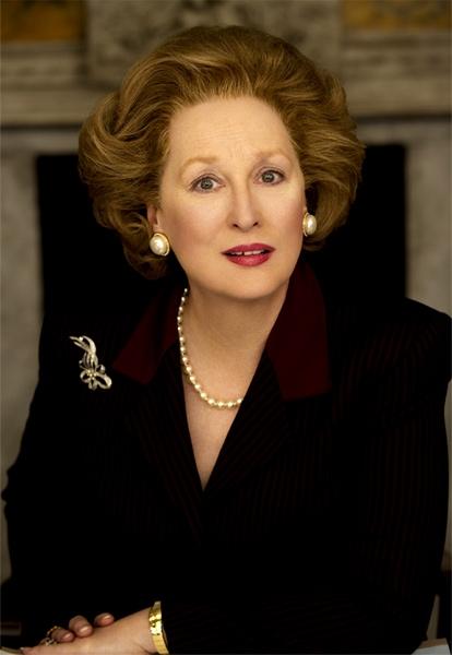 Prmera imagen de Meryl Streep como La Thatcher