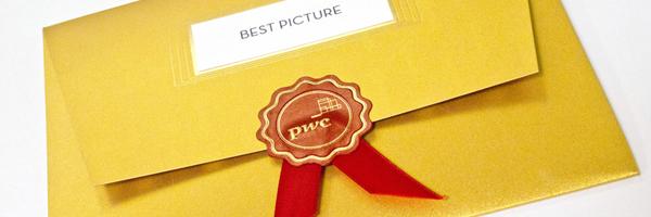Sobres de oro para guardar el secreto de los Oscar