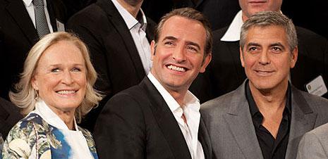 GALERÍA: Almuerzo de los nominados a los Oscar 2011