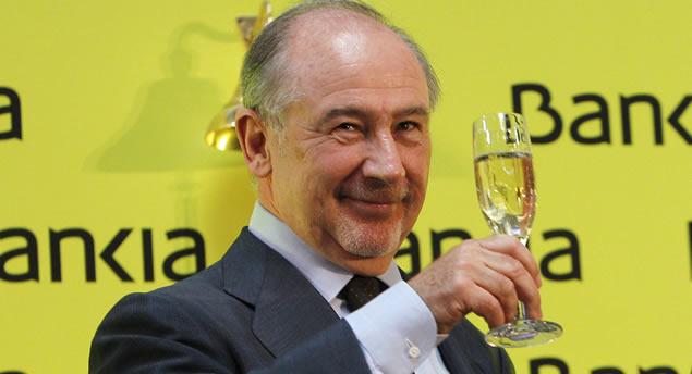 Bankia brinda por Bankia... y la hundió