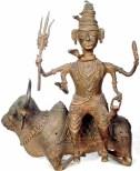Nandi y Shiva