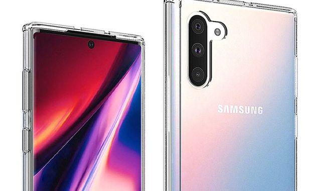 Se filtran nuevas imágenes del Samsung Galaxy Note 10