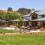Fess Parker Winery outside Los Olivos, CA