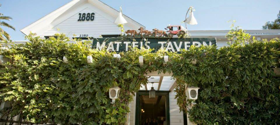 Mattei's Tavern Historical Restaurant in Los Olivos