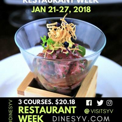 Santa Ynez Valley Restaurant Week