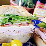Turkey and brie sandwich at Panino Los Olivos