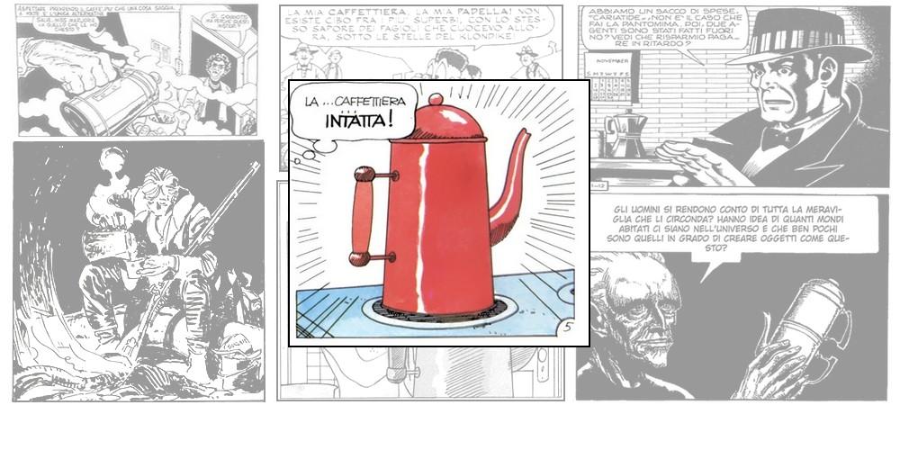 Tante care caffettiere: di fumetti e design