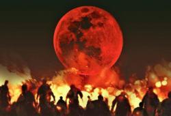 ¿Porqué causaba miedo la luna de sangre?