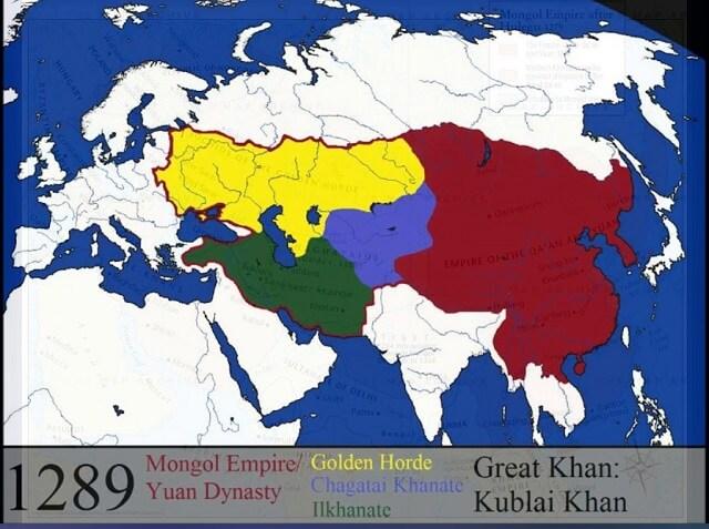 imperio mongolico