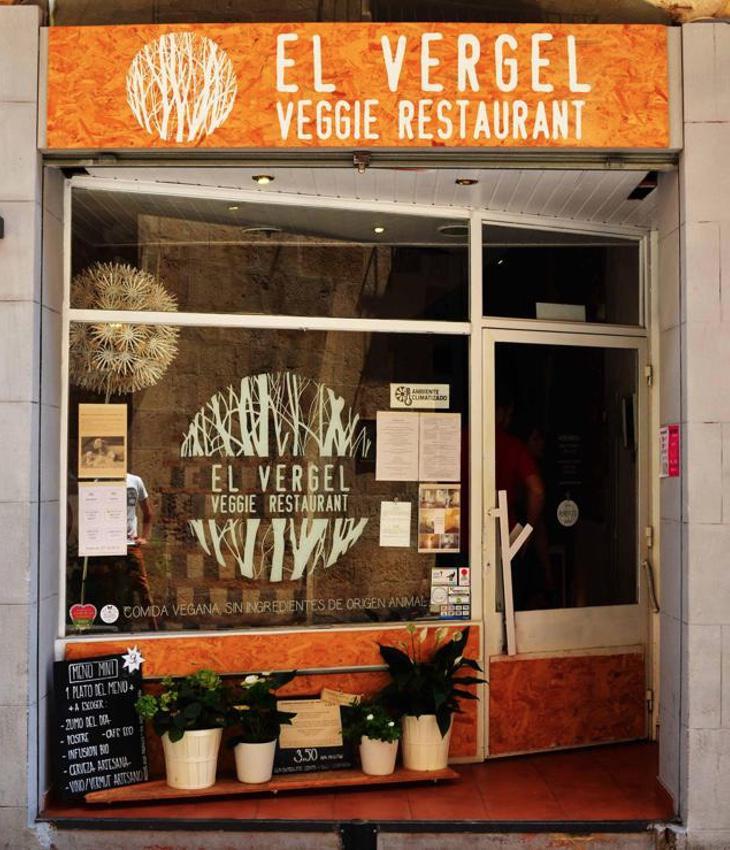 Entrada al restaurante 'El Vergel' de Tarragona