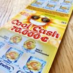Cool Cash Rubbellos