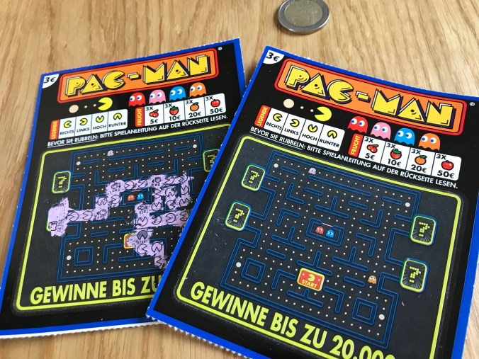 PAC-MAN® Rubbellos