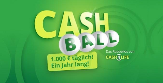 CashBall Rubbellos (Lottohelden.de)