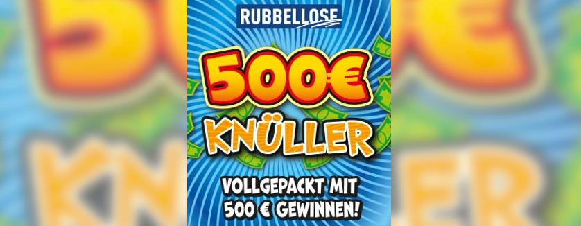 500 Euro Knüller Rubbellos Niedersachsen