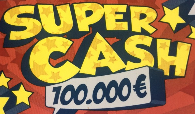 Super Cash Rubbellos (Lotto Bayern)