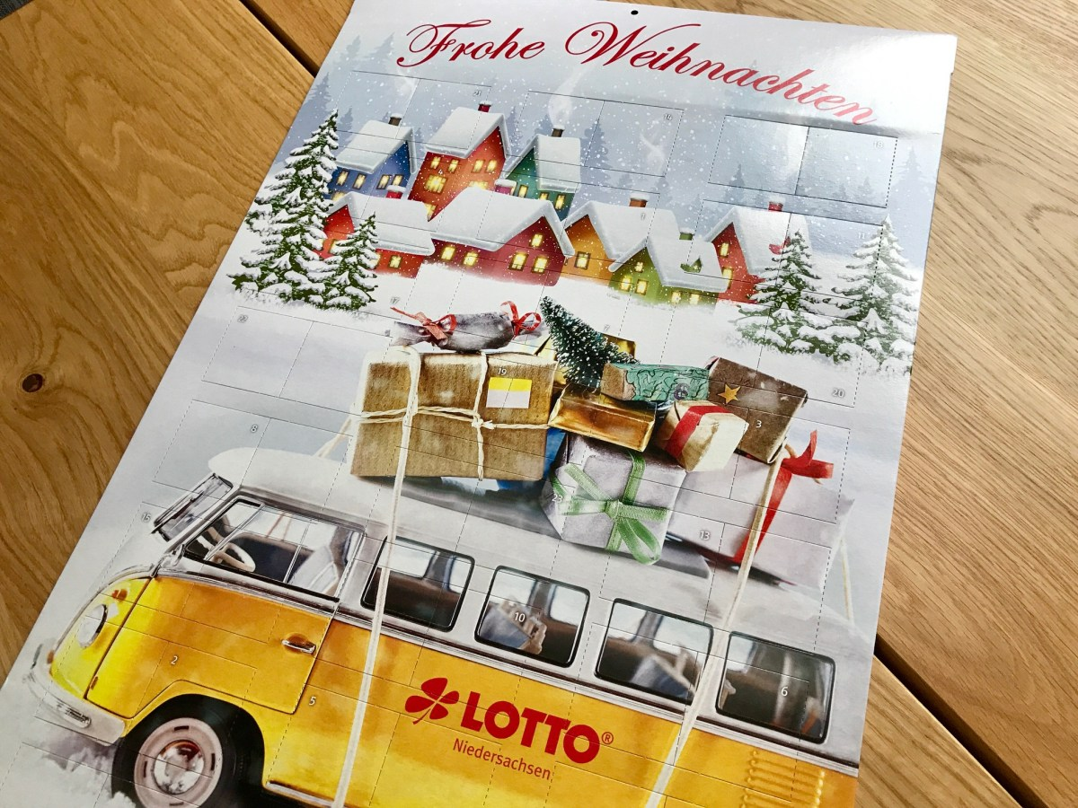 Lotto Rubbellos Adventskalender
