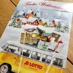 Rubbellos-Adventskalender von Lotto Niedersachsen