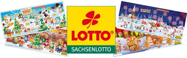 Rubbellos Adventskalender Sachsenlotto 2019