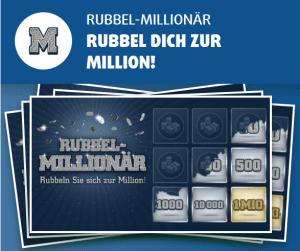 Rubbelmillionär Rubbellos Lottoland