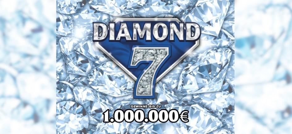 DIAMOND 7 Rubbellos Logo