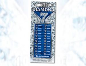 DIAMOND 7 Rubbellos Vorderansicht