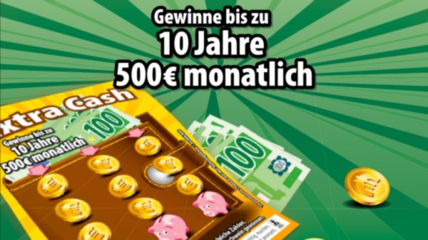 Extra Cash Rubbellos LOTTO BW