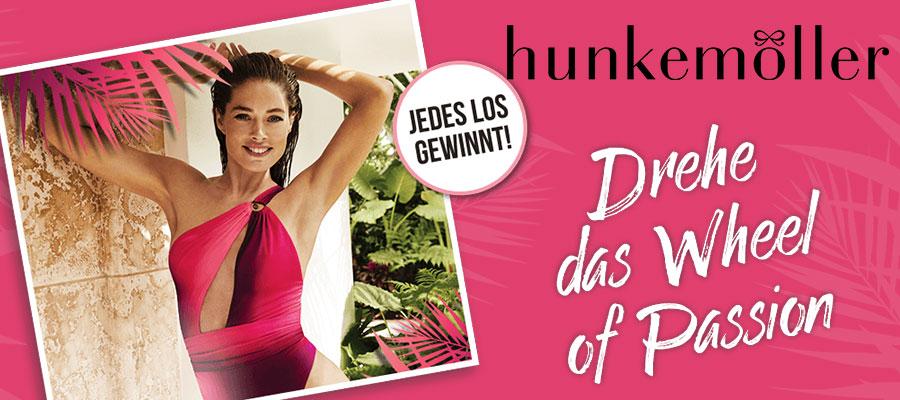 Hunkemöller Aktions-Gewinnspiel Banner