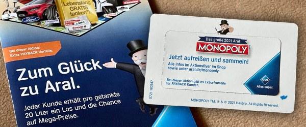 ARAL Monopoly 2021 Artikelbild