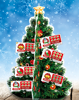 Rubbelkalender Lotto Rheinland-Pfalz