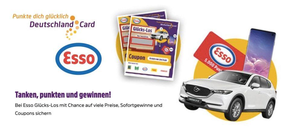 DeutschlandCard ESSO-Glückslos Artikelbild