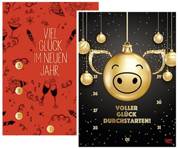 Lotto Bayern Silvesterkalender 2020 wählbare Designs