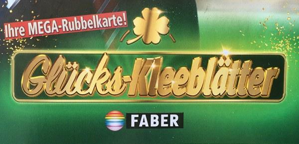 FABER Rubbellos Glücks-Kleeblätter Artikelbild