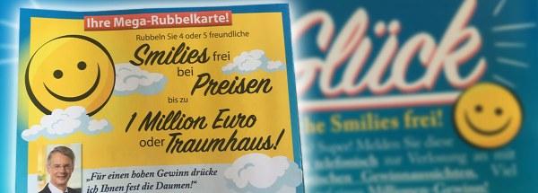 Faber Smilieglück Rubbelkarte Artikelbild
