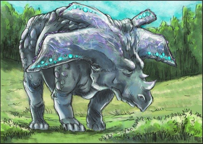 Illustrations pour les prochaines fiches de créatures et personnages de Loss