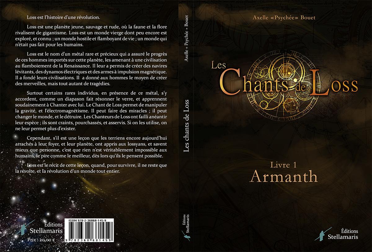 """Acheter le roman """"Les Chants de Loss"""""""