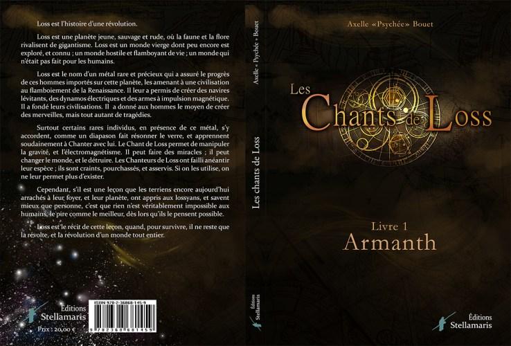 Commander une version dédicacée du roman Les Chants de Loss