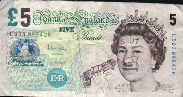 Bank Note Slut