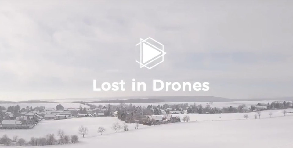 lost in drones - drohnenflug im winter dji mavic pro platinum