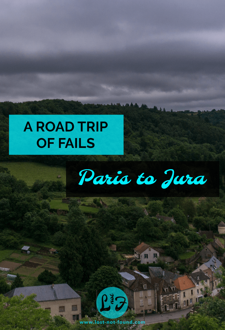 View from a park in Avallon France | Lost Not Found | French Road Trip