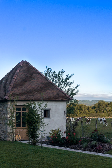 Small house and cows in Jura France | Lost Not Found | French Road Trip