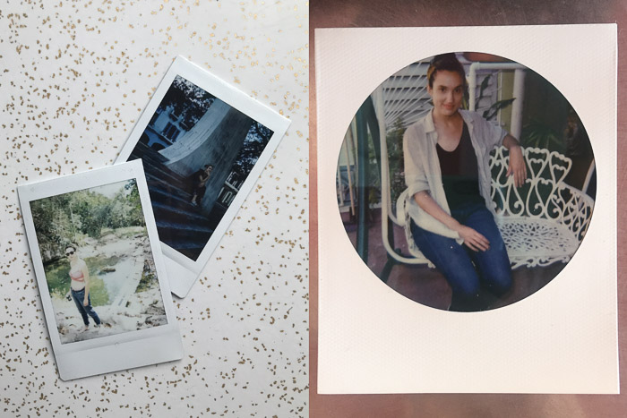 Polaroid Portraits of Candiss in Cuba | LOST NOT FOUND | Reflections of 5 Years of Travel