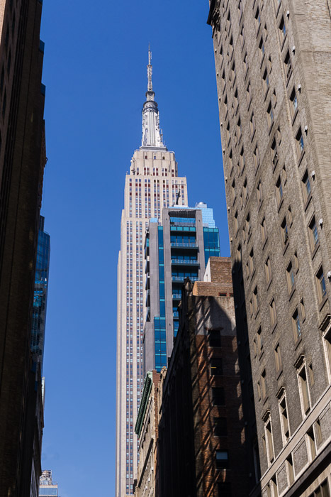 View of the Empire State Building | LOST NOT FOUND | NYC | Garment District | Fabric Stores NYC | Craft Stores NYC| NYC Fashion #GarmentDistrict #FabricStoresNYC #NYC