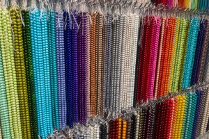 Beads in NYC Garment District