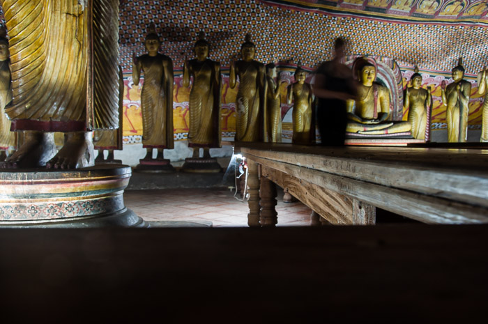 Inside a room of the Dambulla Cave Temple in Sri Lanka | LOST NOT FOUND | Thoughts & Feelings Sri Lanka