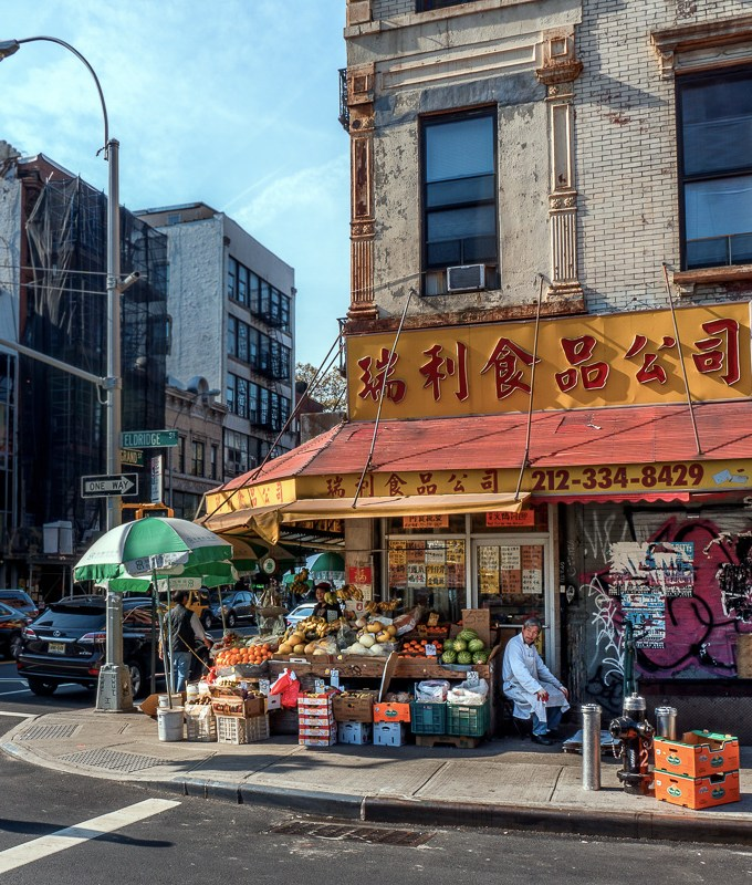 Vegetable market in Chinatown Manhattan NYC | LOST NOT FOUND | NYC through a Local's Eyes - A Photo Essay